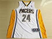 Mens Nba Indiana Pacers #24 George White Revolution 30 Mesh Jersey