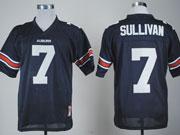 Mens Ncaa Nfl Auburn Tigers #7 Sullivan Dark Blue Jersey Gz