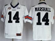 Mens Ncaa Nfl Auburn Tigers #14 Marshall White Elite Jersey Gz