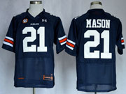 Mens Ncaa Nfl Auburn Tigers #21 Mason Dark Blue Elite Jersey Gz