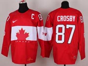 Mens nhl team canada #87 crosby red (2014 olympics) Jersey