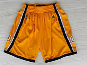 Nba Indiana Pacers Yellow Shorts (new Mesh Style)