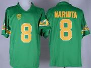 Mens Ncaa Nfl Oregon Ducks #8 Mariota Green (gold Number) 1994 Throwbacks Jersey