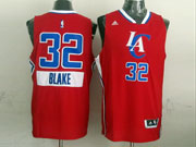 Mens Nba Los Angeles Clippers #32 Blake (2014 New Christmas) Red Jersey