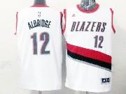 Mens Nba Portland Trail Blazers #12 Aldridge White (blazers) Jersesy