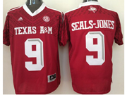 Mens Ncaa Nfl Texas A&m Aggies #9 Ricky Seals-jones Red Jersey