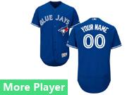 Mens Majestic Toronto Blue Jays Blue Flex Base Current Player Jersey