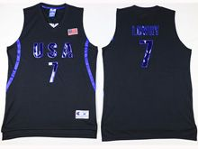 Mens Nba 12 Dream Teams #7 Kyle Lowry Black Jersey
