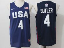 Mens Nba 12 Dream Teams #4 Jimmy Butler Blue Jersey