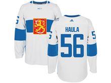 Mens Nhl Team Finland #56 Erik Haula White 2016 World Cup Hockey Jersey