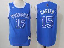 Mens Nba Toronto Raptors #15 Vince Carter Blue (2016 New) Jersey