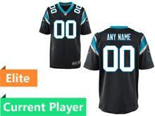 Mens Nfl Carolina Panthers Black Elite Current Player Jersey