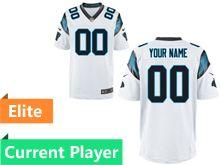 Mens Nfl Carolina Panthers White Elite Current Player Jersey