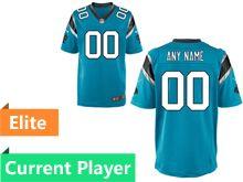 Mens Nfl Carolina Panthers Blue Elite Current Player Jersey