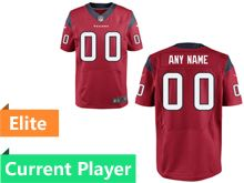 Mens Houston Texans Red Elite Current Player Jersey