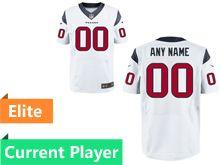 Mens Houston Texans White Elite Current Player Jersey