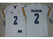 Youth Ncaa Nfl Michigan Wolverines #2 Charles Woodson White Limited Jersey