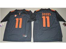 Mens Ncaa Nfl Tennessee Volunteers #11 Joshua Dobbs Black Limited Jersey