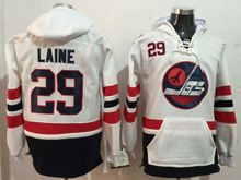 Mens Reebok Winnipeg Jets #29 Patrik Laine White Hoodie