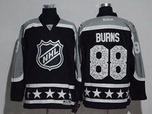 Mens Reebok Los Angeles Kings #88 Brent Burns Black 2017 All Star Hockey Jersey