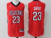 Mens Nba New Orleans Pelicans #23 Anthony Davis Red Basketball Jerseys