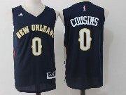 Mens Nba New Orleans Pelicans #0 Demarcus Cousins Dark Blue Basketball Jerseys