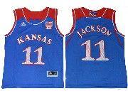 Youth Ncaa Nba Kansas Jayhawks #11 Josh Jackson Blue Jersey