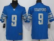 Mens Nfl Detroit Lions #9 Matthew Stafford 2017 Vapor Untouchable Limited Blue Jersey