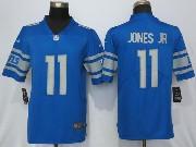 Mens Nfl Detroit Lions #11 Marvin Jones 2017 Vapor Untouchable Limited Blue Jersey