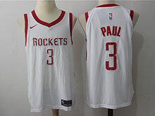 Mens Nba Houston Rockets #3 Chris Paul White Home Nike Jersey