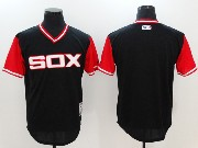 Mens Mlb Chicago White Sox Custom Made Black 2017 Players Weekend Authentic Jersey