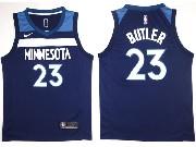 Mens Nba Minnesota Timberwolves #23 Jimmy Butler Blue Nike Jersey