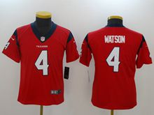 Youth Nfl Houston Texans #4 Deshaun Watson Red Vapor Untouchable Limited Jersey