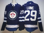 Mens Nhl Winnipeg Jets #29 Patrik Laine Dark Blue Adidas Jersey