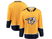 Mens Women Youth Nhl Nashville Predators Blank Gold Adidas Jersey