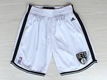 Mens Nba Brooklyn Nets White New Shorts