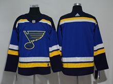 Mens Women Youth Nhl St.louis Blues Custom Made Blue Adidas Jersey