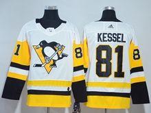 Mens Nhl Pittsburgh Penguins #81 Phil Kessel White Adidas Premier Player Jersey
