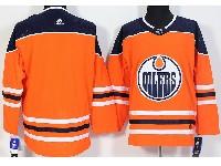 Mens Adidas Nhl Edmonton Oilers Blank Orange Jersey