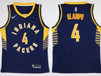 Mens Nba Indiana Pacers #4 Victor Oladipo Blue Swingman Nike Jersey