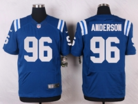 Mens Nfl Indianapolis Colts #96 Henry Anderson Blue Elite Nike Jersey