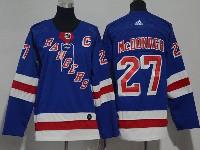 Youth Nhl New York Rangers #27 Ryan Mcdonagh Blue Adidas Jersey