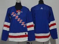 Youth Nhl New York Rangers Blank Blue Adidas Jersey