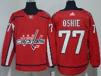 Mens Nhl Washington Capitals #77 T. J. Oshie Red Adidas Jersey