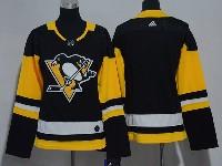 Women Youth Nhl Pittsburgh Penguins Blank Black Adidas Jersey