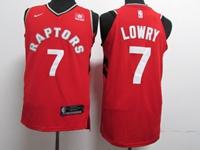 New Mens Nba Toronto Raptors #7 Kyle Lowry Red Nike Jersey