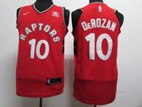 Mens Nba Toronto Raptors #10 Demar Derozan Red Nike Jersey