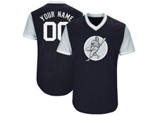 Mens Womens Youth Majestic New York Yankees Custom Made 2017 Players Weekend Cool Base Jersey