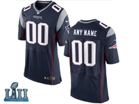 Mens Women Youth New England Patriots 2018 Super Bowl Lii Bound Blue Elite Jersey