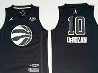 Mens Nba 2018 All Star Toronto Raptors #10 Demar Derozan Black Jersey